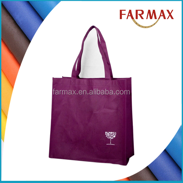 Foldable brand creativity non woven shopping bag with zip pocket