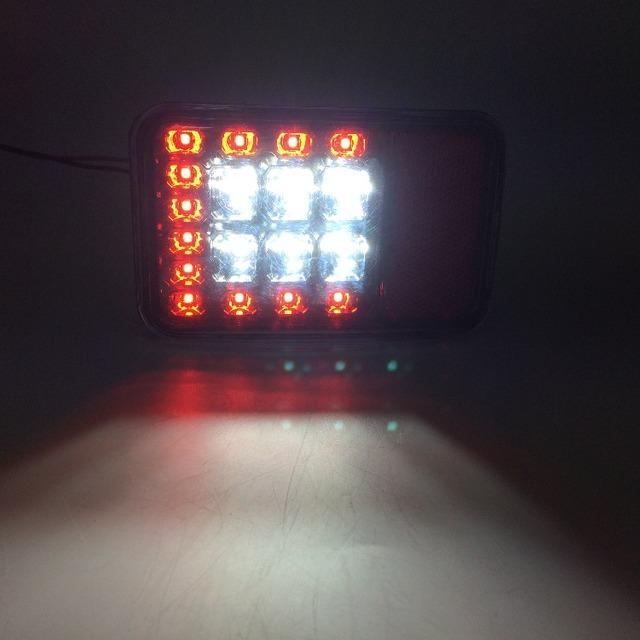 Rear bumper lamp for Jeep Wrangler