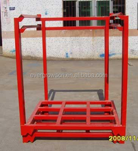 Storage powder coating stacking heavy duty steel frame pallet