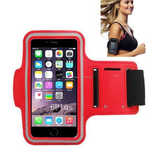 Adjustable Running Sport Armband Exercise Ski Armband For Apple iPhone 5 5S SE 6 6S 6plus 6S plus Smartphone