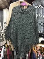 wholesale women cardigan pullover cashmere poncho woolen sweater designs for ladies