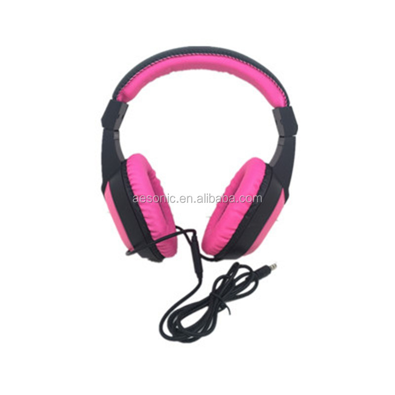 China Factory Price Stereo Music PC Headphones With Noise Reduction