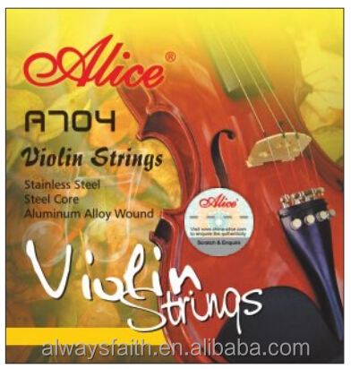 Wholesale professional Alice violin strings