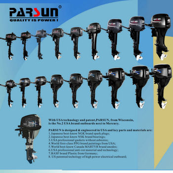 8hp 4-stroke outboard engine(PARSUN)