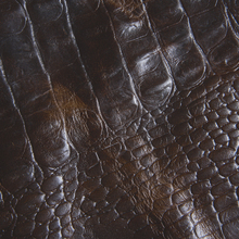 Hight Quality Embossed Crocodile Pattern genuine Leather for upholstery furniture sofa croco leather