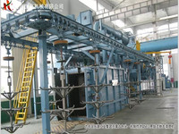 Shot Blasting Cleaning Machine/Gas Cylinder Shot Blasting Machine
