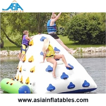 Large Inflatable Iceberg For Floating Water World / Inflatable Water Climbing Games / Inflatable Floating Island