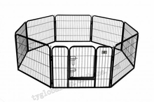 "24"" 8 Panel Heavy Duty Pet Playpen Dog Exercise Pen folding metal dog Fence"