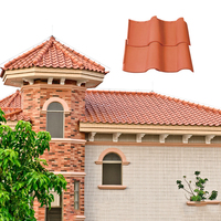 House spanish roof model tiles and building material