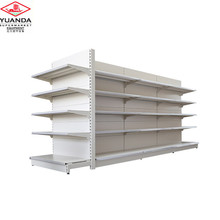 Alibaba store gondola supermarket steel shelf rack shop steel shelves