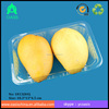 disposable blister plastic PET food tray/Eco-green biodegradable PET fruit tray