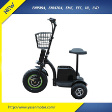 CE 500W Electric Tricycle For Handicapped 48V 12Ah From China