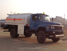 Dongfeng mini 4000L Fuel Dispenser 4*2 fuel tank truck