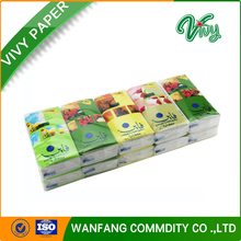 Customized Printing Advertising Pocket Tissue Paper