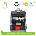 High quality Ripstop polyester fabric with multi pockets backseat car organizer for kids