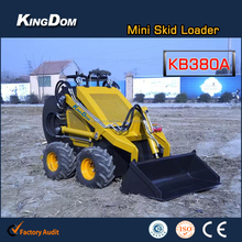 Mini wheeled loader price Mini loader China Skid steer mini loader on sale