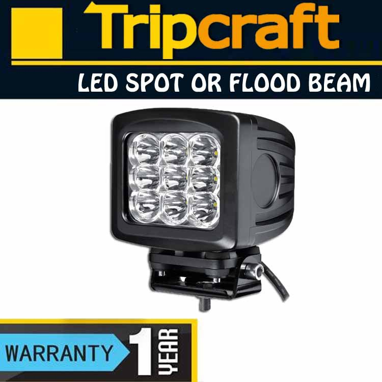 for Forklifts 6000k 9~32v spot flood led work lamp,90w offroad ip67 led work light
