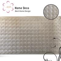 Premium 3D Bubble Massage white/transparent bathroom Anti slip PVC bath mat