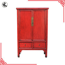 oriental chinese antique reproduction painted wardrobe bedroom furniture