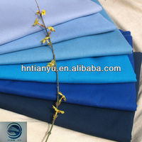 POLYESTER COTTON SATIN FABRIC/DYED TC FABRIC