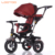 Online sale cheap price pink 3 wheels baby trike children bicycle tricycle with push bar for 1 to 6 years boys toys malaysia