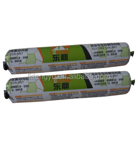 Marble material stone Ceramics material weatherproof silicone sealant adhesive and sealing