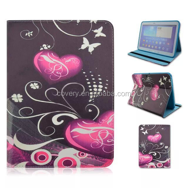 Tablet leather cover for Samsung galaxy tab 4 10.1