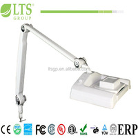 multifunction beauty equipment magnifier lamp, with square shade ;SMD LED & UV
