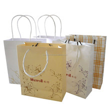 Brown Paper Bag With Handle Indian Gift Bag,Brown Kraft Twisted Handle Large Paper Carrier Bags