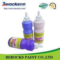 wholesale acrylic paint /water based washable coating for children acrylic paint