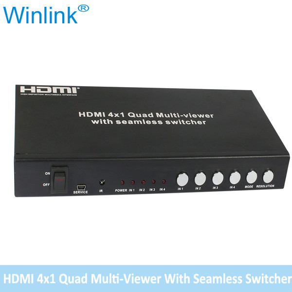 HDMI 4X1 multiviewer With Seamless Switcher
