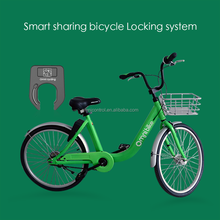 China Supply Smart Security Bike Lock With GPS+GPRS For Station-less Bike Share System