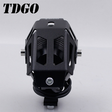2017 Hot Sale The Best and Cheapest Automotive Dual Color H4 LED Demon Eyes Headlights
