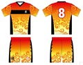 custom hot design top quality team full sublimation soccer kits