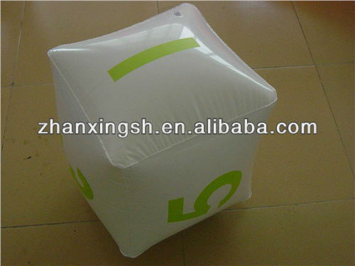 Customized logo pvc inflatable cube for promotion