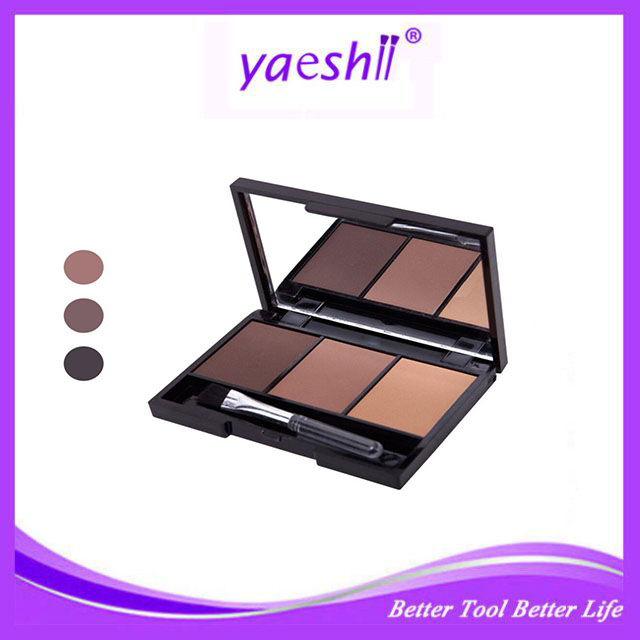 Yaeshii 3 color eyeshadow palette private label <strong>cosmetics</strong>