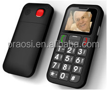 new design unlocked bar 3G senior phone with sos emergency button, arabic / hebrew multi languages