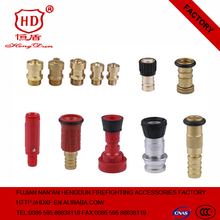 fire hose nozzle fire jet spray/ fire fighting nozzle