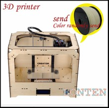 3d printer machine dual extruder Three-dimensional extrusion machine PLA & ABS plastic parts <strong>Moulds</strong>