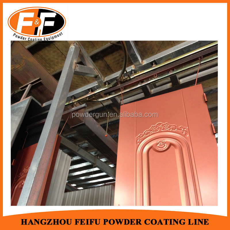 Manufacture Design Powder Coating Line for Door