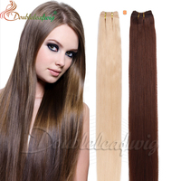 Double leaf wig factory price High quality best selling brazilian human hair extension