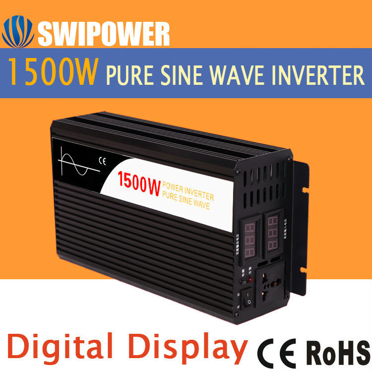 car inverter off grid 1500w 12v 24v dc to ac 120v 20v 240v