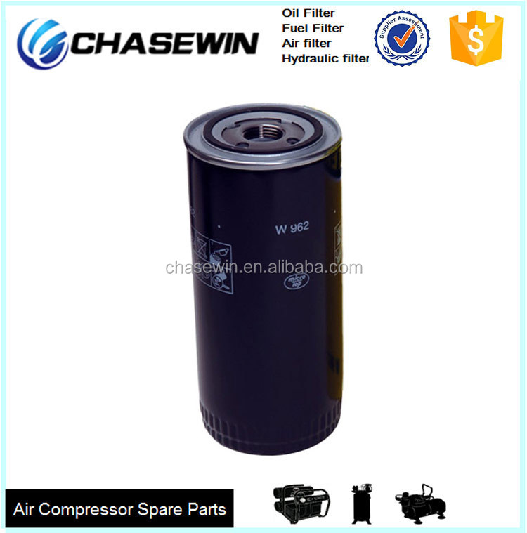 Compressor Engine Parts Made In China W962 Industrial Oil Filter