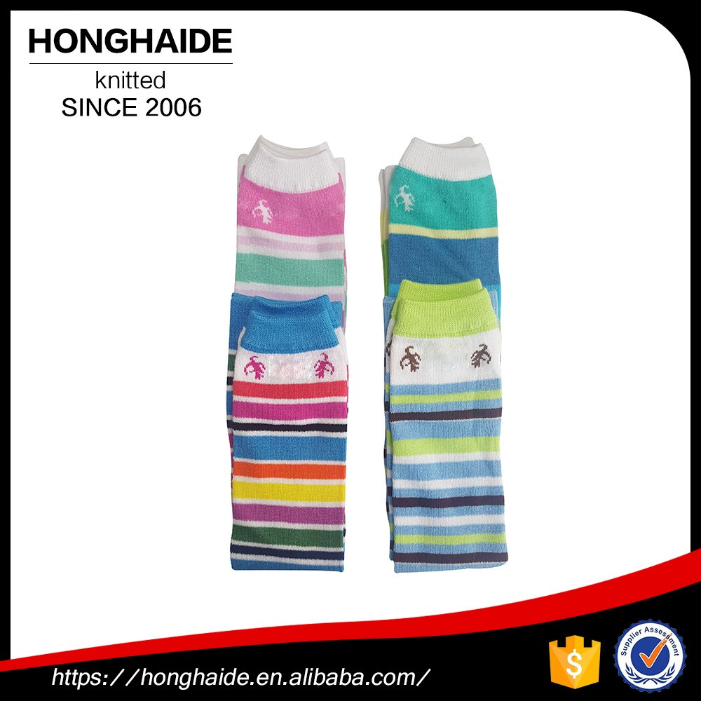 Wholesale cheap tube sock plus size knitting wool open leg warmer for kids