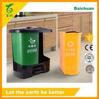Eco Friendly Small Foot Pedal Garbage Bin Home Kitchen Appliance