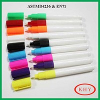 4MM tip size jumbo whiteboard marker with clip