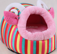2015 NEW Autumn and winter warmth plush kennel cat litter pink pig room