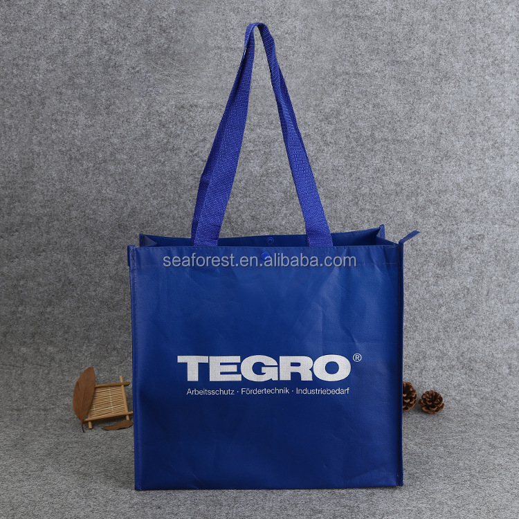 high quality durable pp non woven shopping bags made in china