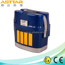 Coal Mine isolated Chemical Oxygen Self Rescuer, 30 minutes mining self rescuer, CE certified mining breathing apparatus