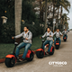 European Warehouse Stock 800w 1000w 1500w City Coco Electric Scooter Seev Citycoco with EEC